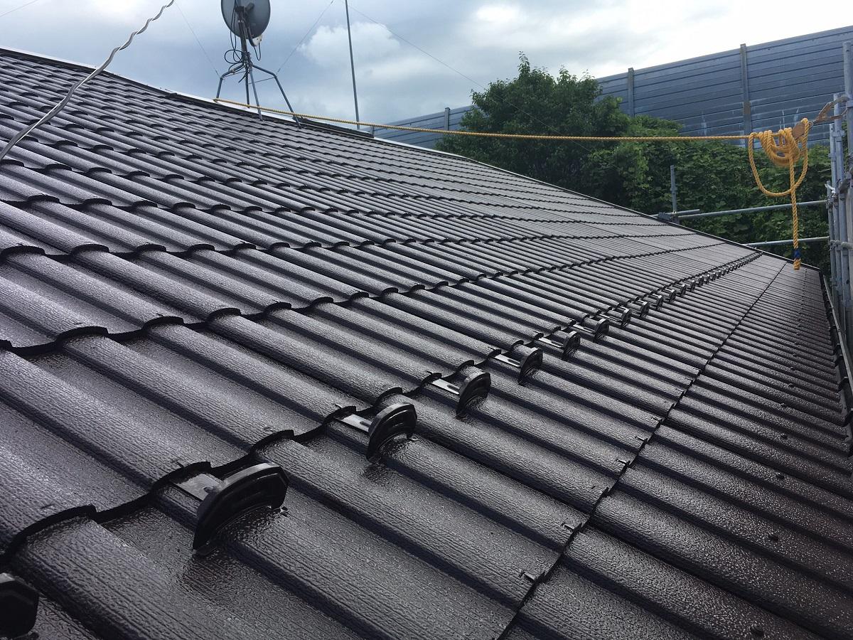 M様邸:屋根塗装工事