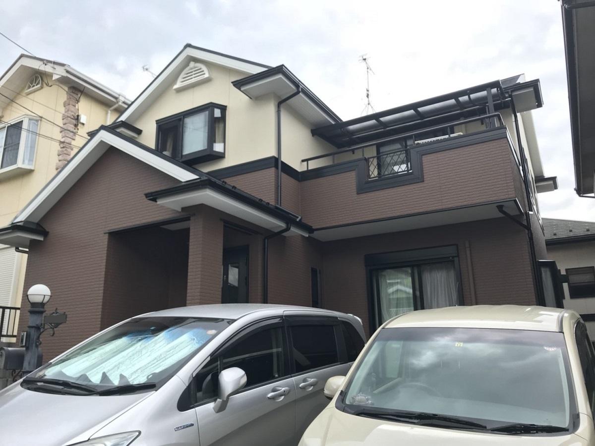 T様邸:外壁屋根塗装工事