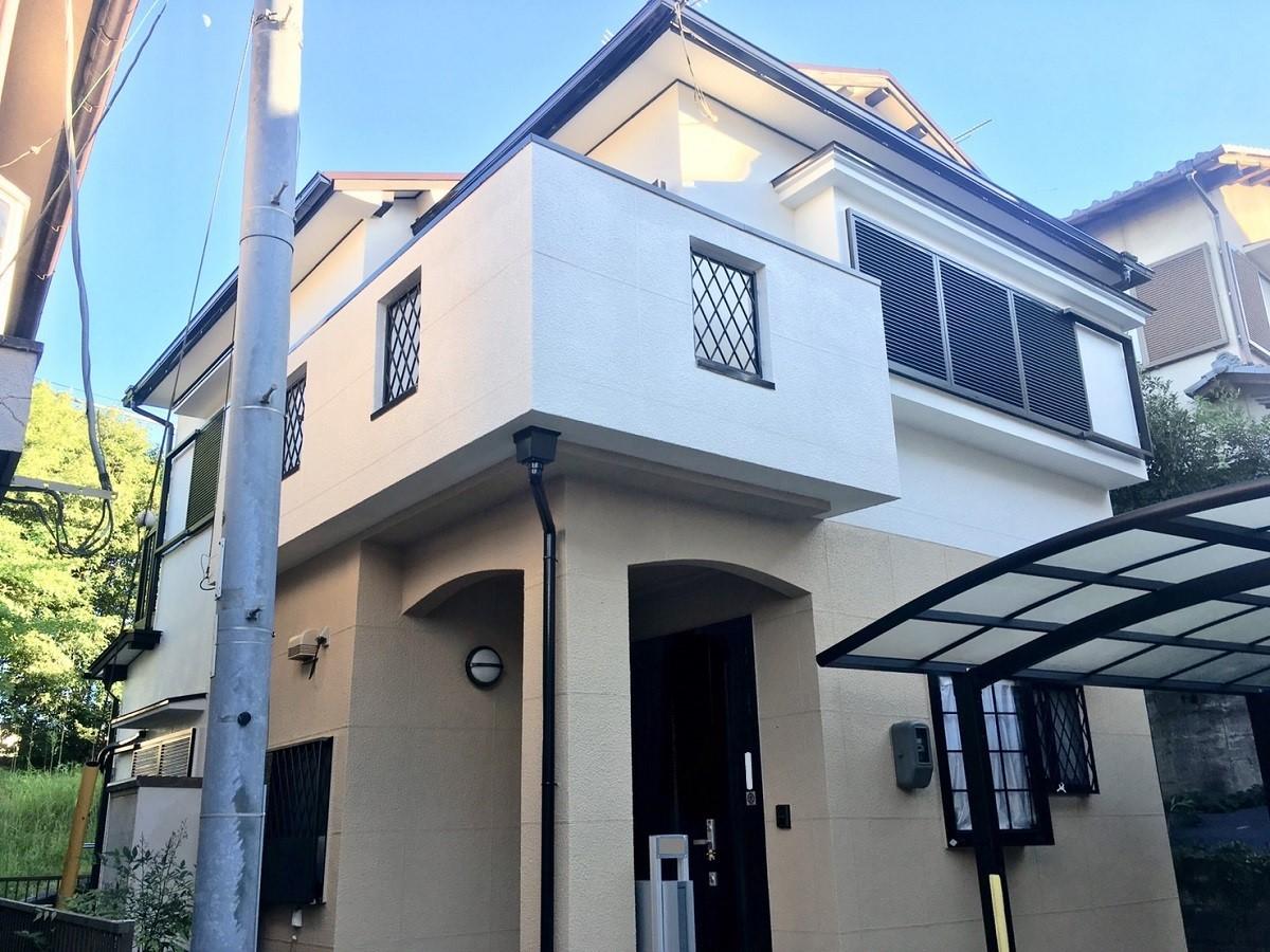 K様邸:外壁屋根塗装工事①