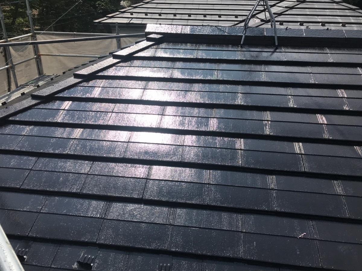 屋根施工後1
