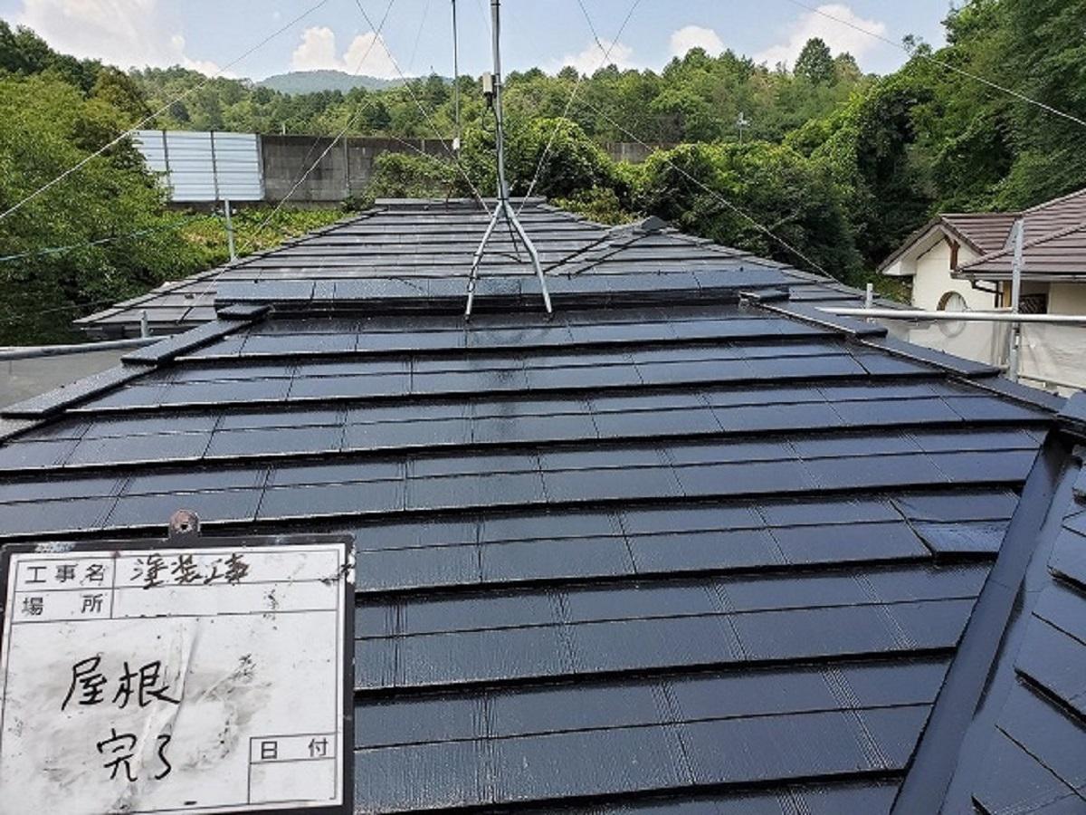 屋根施工後3