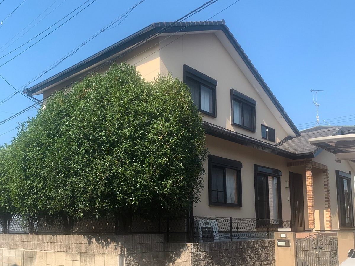 K様邸:外壁塗装工事