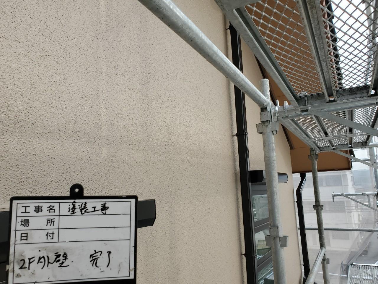 2階 外壁 施工後